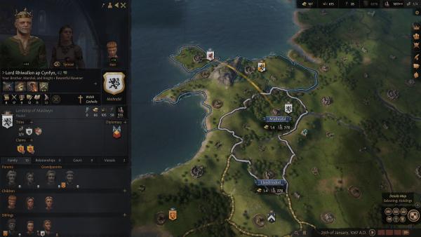 Crusader Kings 3 in-game screenshot